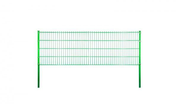 Metallzaun Sylt B200 x H123 cm, grün