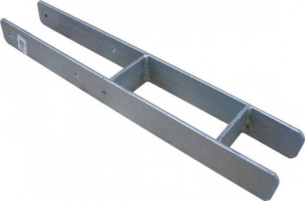 Beton-Anker H-Form Edelstahl 91 mm