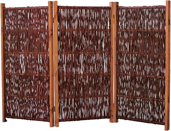Weiden-Paravent Fuerte B180 x H120 cm