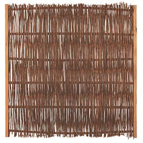 Weidenzaun Malaga B120 x H120 cm