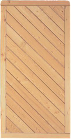Lärche Dichtzaun Montana B90 x H180 cm