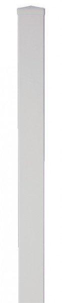 Pfosten aus Kunststoff 9 x 9 x 150 cm, weiß