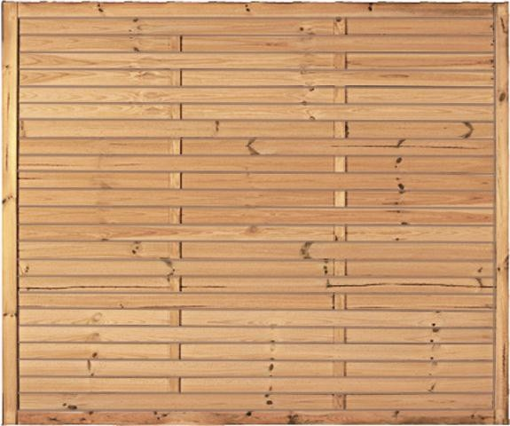 Lamellenzaun Rom B180 x H150 cm