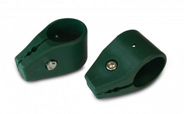 Kunststoff Mattenverbinder Endverbinder Amrum Ø34 mm, grün