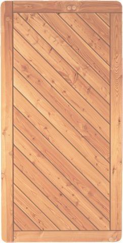 Lärche Dichtzaun Kansas B90xH180 cm
