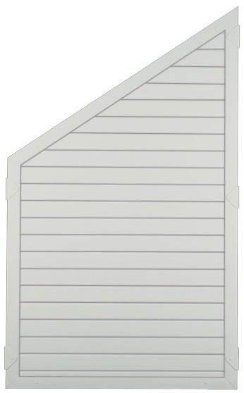 Dichtzaun Paris B90 x H150/90 cm