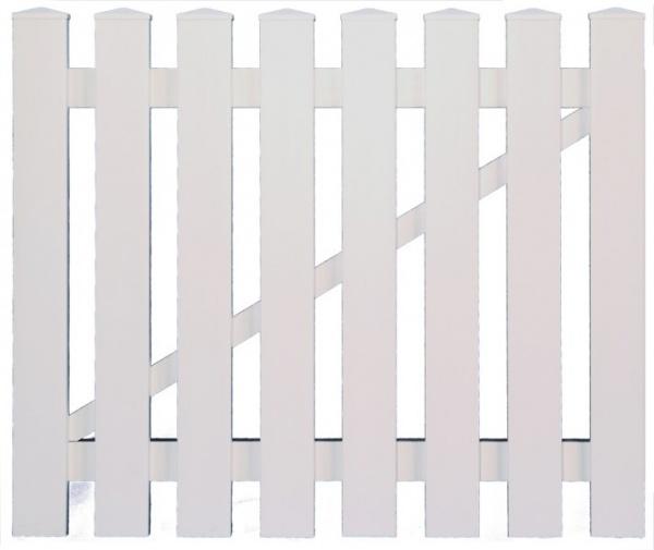 Kunststoff Tür für Gartenzaun Toulon B100 x H80 cm