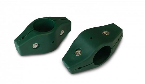Kunststoff Mattenverbinder Endlosverbinder Amrum Ø34 mm, grün
