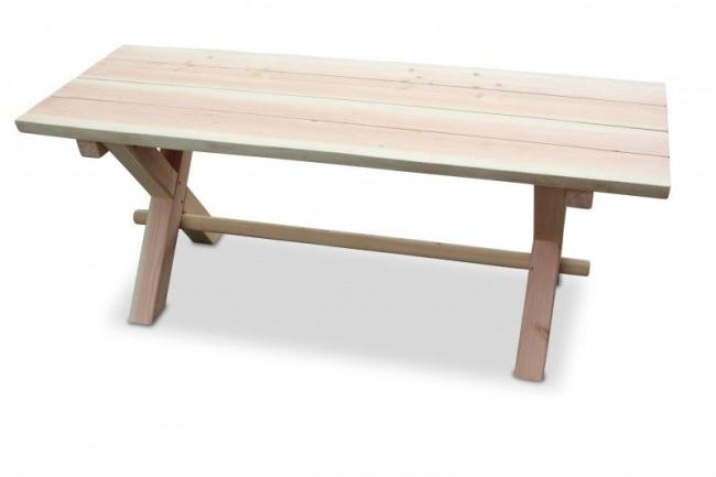 Douglasie Tisch Rustik Länge 150 cm