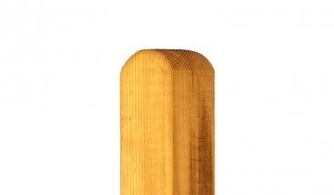 Kantholzpfosten aus Sib. Lärche 9x9x240 cm