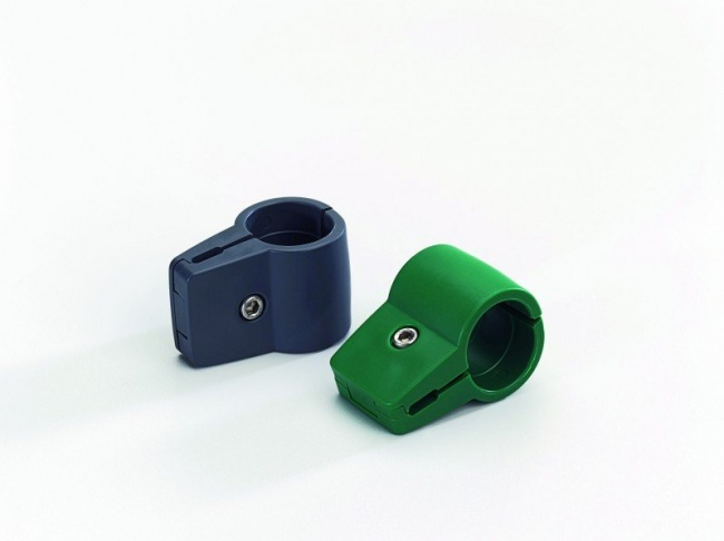 Endverbinder Sylt Ø34 mm, grün
