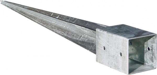 Einschlagbodenhülsen 9 x 9 x 75 cm