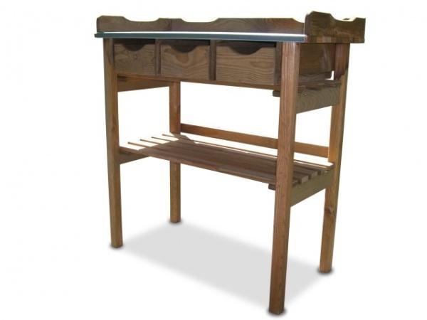 pflanztisch mit 3 schubladen pflanztische gartenausstattung garten greenseason. Black Bedroom Furniture Sets. Home Design Ideas