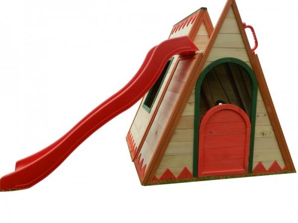 kinderspielhaus tini | spielhäuser mit rutsche | spielhäuser,
