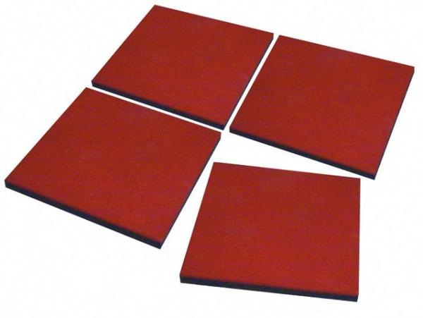 Fallschutzplatte rot